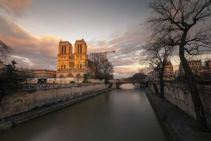 Blick auf Seine und Notre Dame