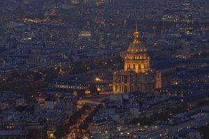 Nachtaufnahme: Pantheon in Paris